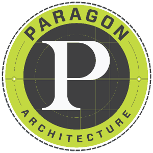 Paragon Architecture Logo_White Circle Background